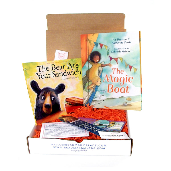 February 2019 Picture Book Box - (Ages 4-7)