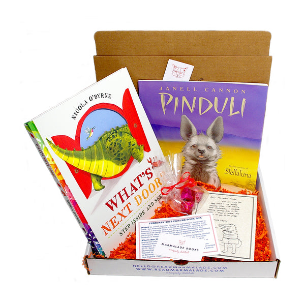 February 2018 Picture Book Box - (Ages 4-7)