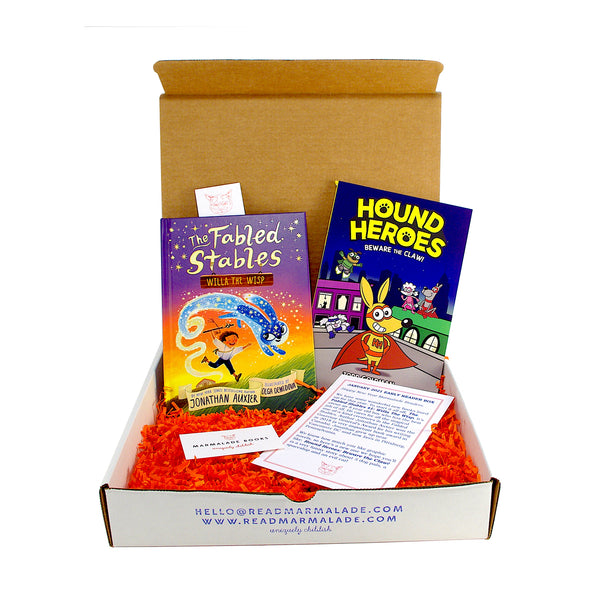 January 2021 Early Reader Box (Ages 6-9)