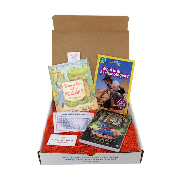 January 2020 Early Reader Box (Ages 6-9)