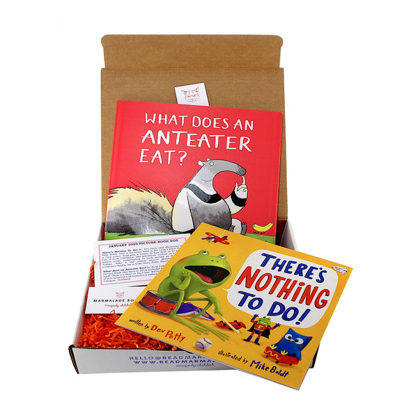January 2020 Picture Book Box - (Ages 4-7)