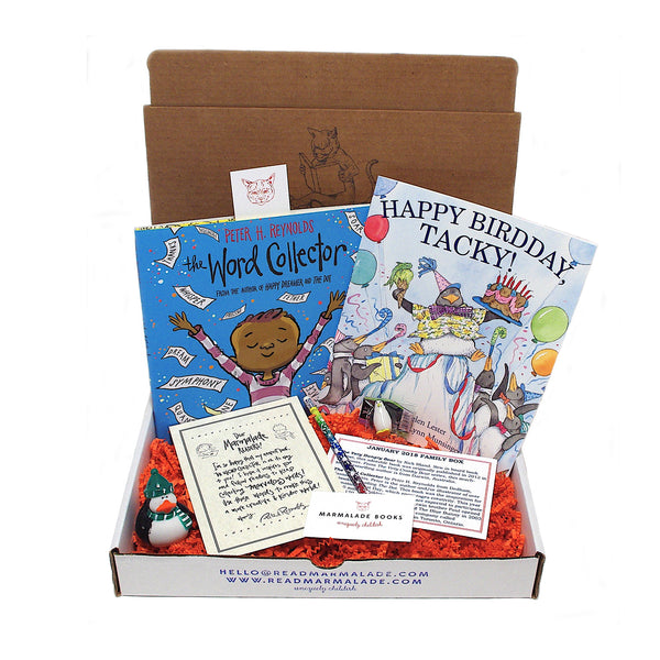 January 2018 Picture Book Box - (Ages 4-7)