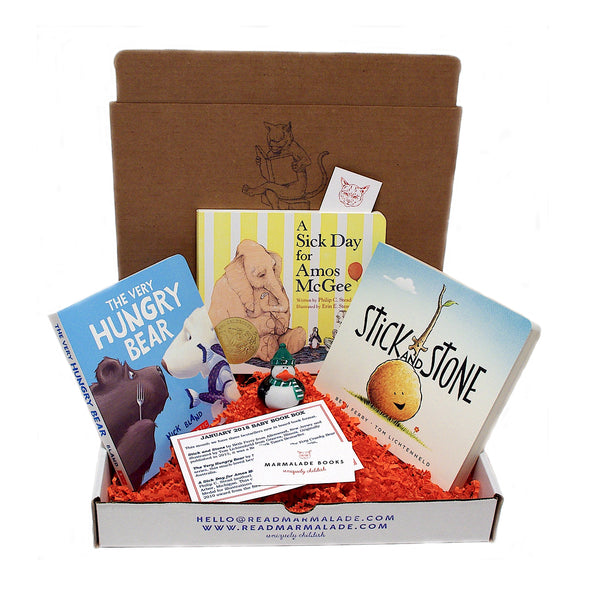 January 2018 Baby Box (Ages 0-3)
