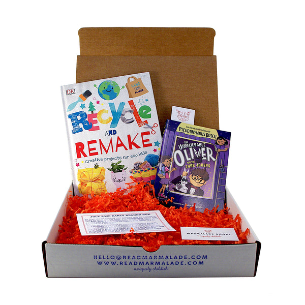 July 2020 Early Reader Box (Ages 6-9)