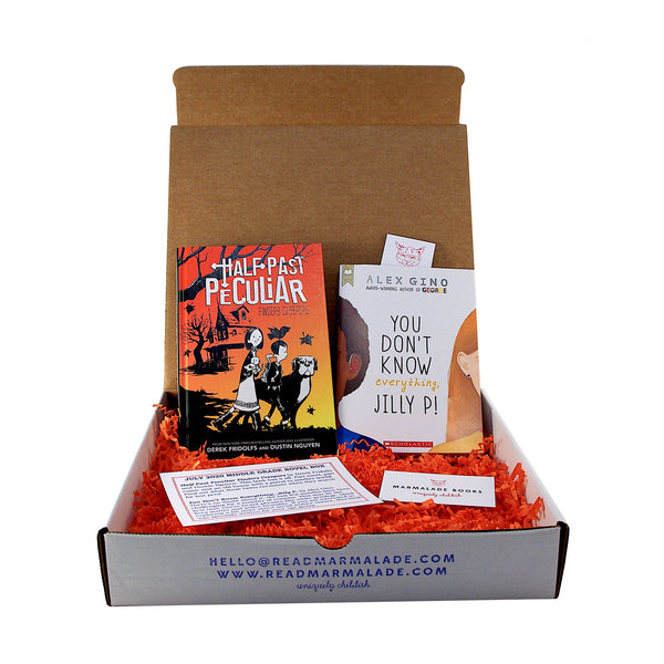July 2020 Middle Grade Novel Box (Ages 8-12)