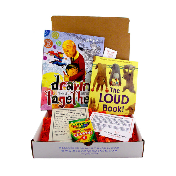 July 2018 Picture Book Box - (Ages 4-7)