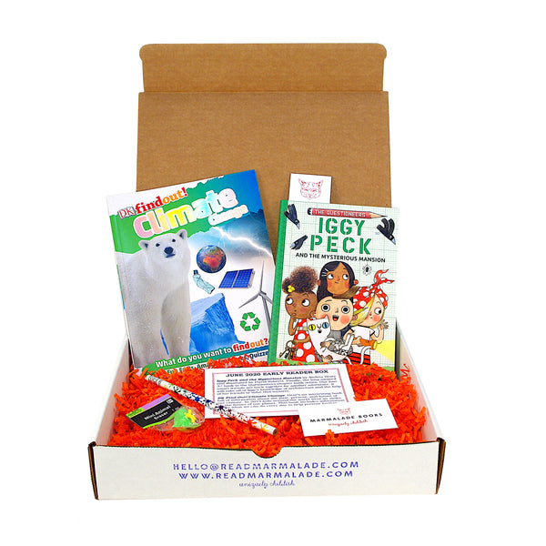 June 2020 Early Reader Box (Ages 6-9)