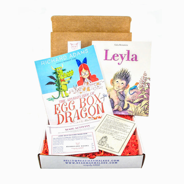 June 2019 Picture Book Box - (Ages 4-7)