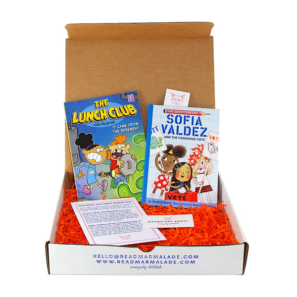 November 2020 Early Reader Box (Ages 6-9)