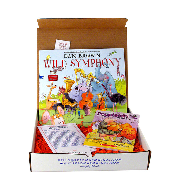 November 2020 Picture Book Box - (Ages 4-7)