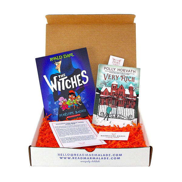 November 2020 Middle Grade Novel Box (Ages 8-12)