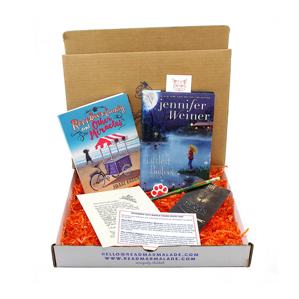 November 2016 Middle Grade Novels Box - (Ages 8-12)