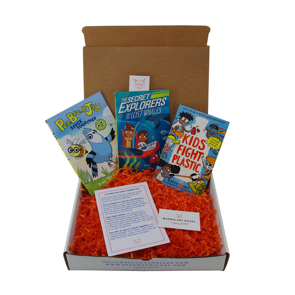 October 2020 Early Reader Box (Ages 6-9)