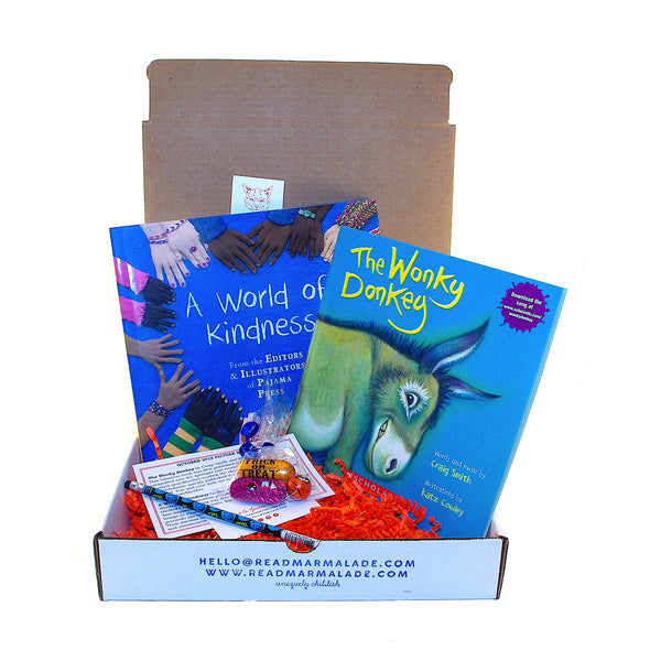 October 2018 Picture Book Box - (Ages 4-7)