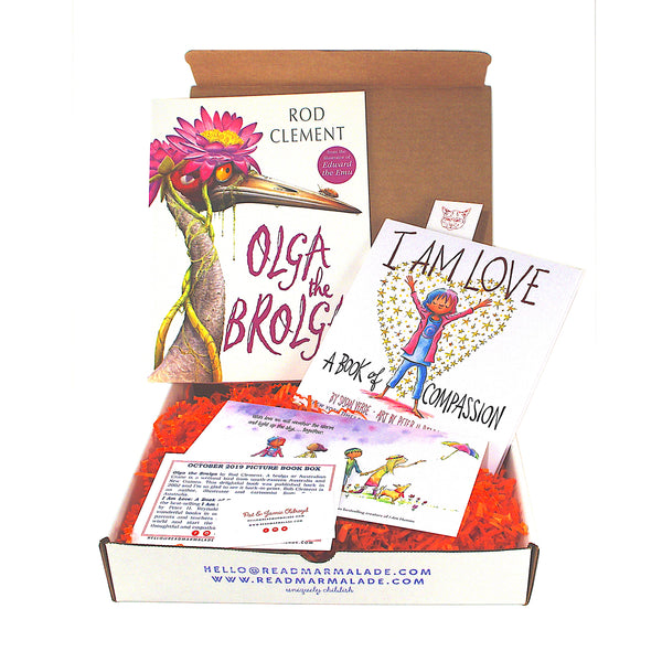 October 2019 Picture Book Box - (Ages 4-7)