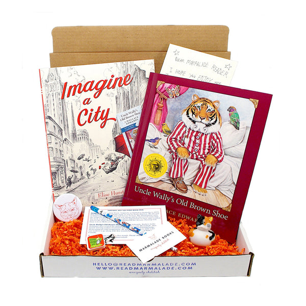 January 2017 Picture Books Box - (Ages 4-7)