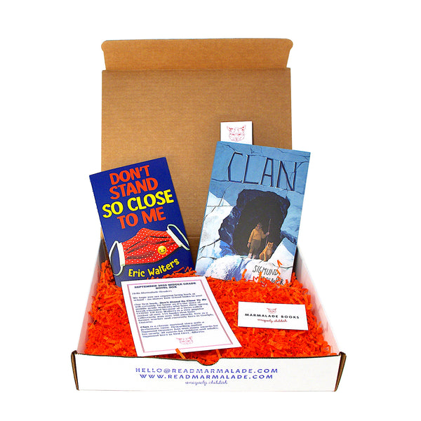 September 2020 Middle Grade Novel Box (Ages 8-12)