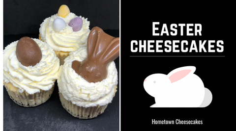 Easter Cheesecake Cupcake box