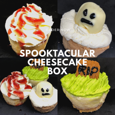 👻🎃Halloween Cheesecake Cupcake box