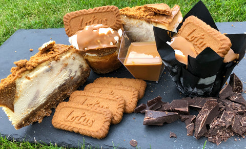 Lotus Biscoff Cheesecake Selection Box
