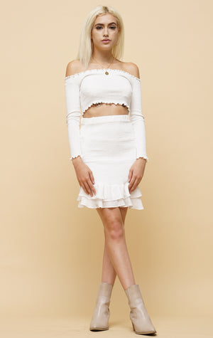 Brighton Ruffle skirt
