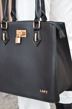 Money Bags vegan leather handbag