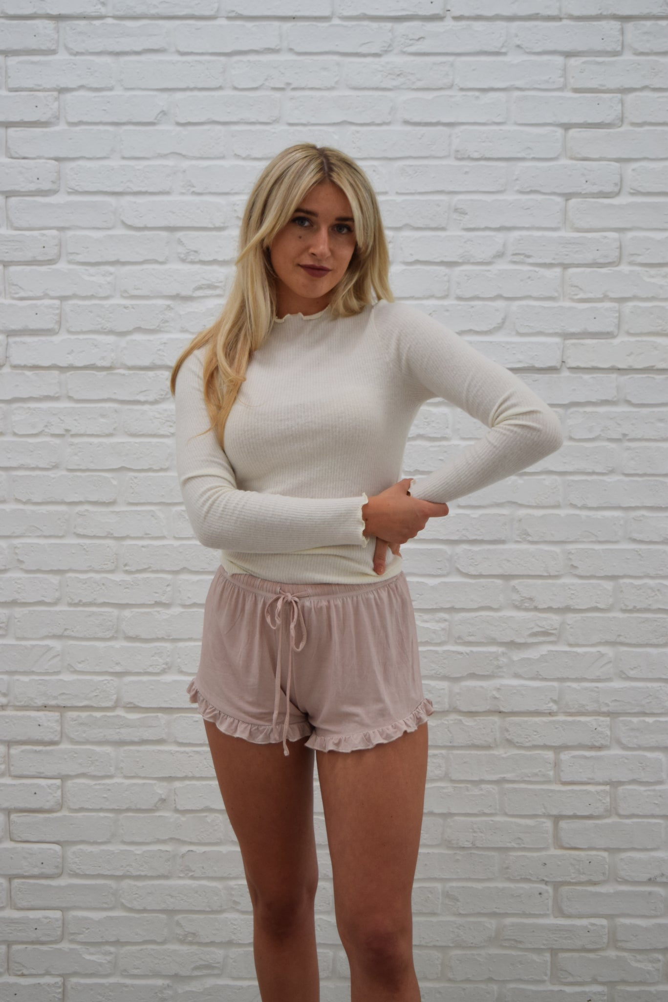 Baby Girl ruffle shorts