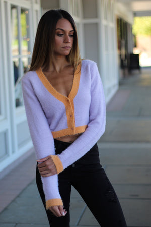 Cropped Cardigan Top