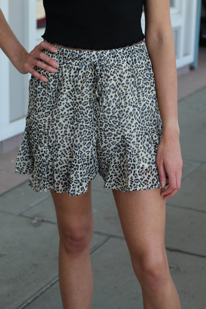 Leopard Play Shorts