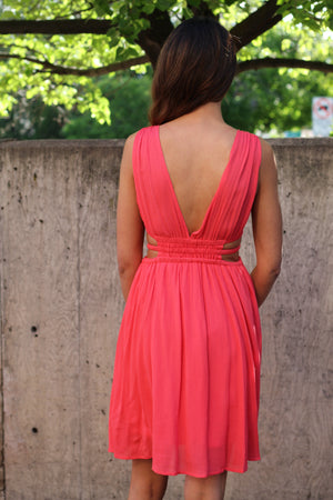 Cutout Detail Dress