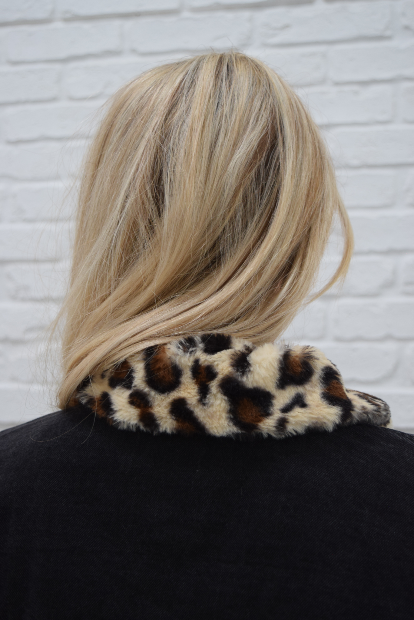 It Girl leopard trucker jacket