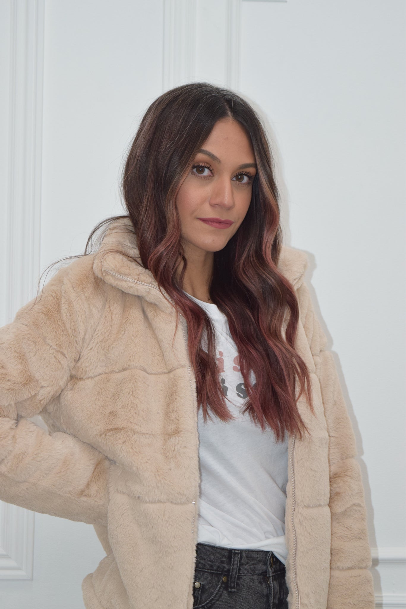 Blair fur jacket