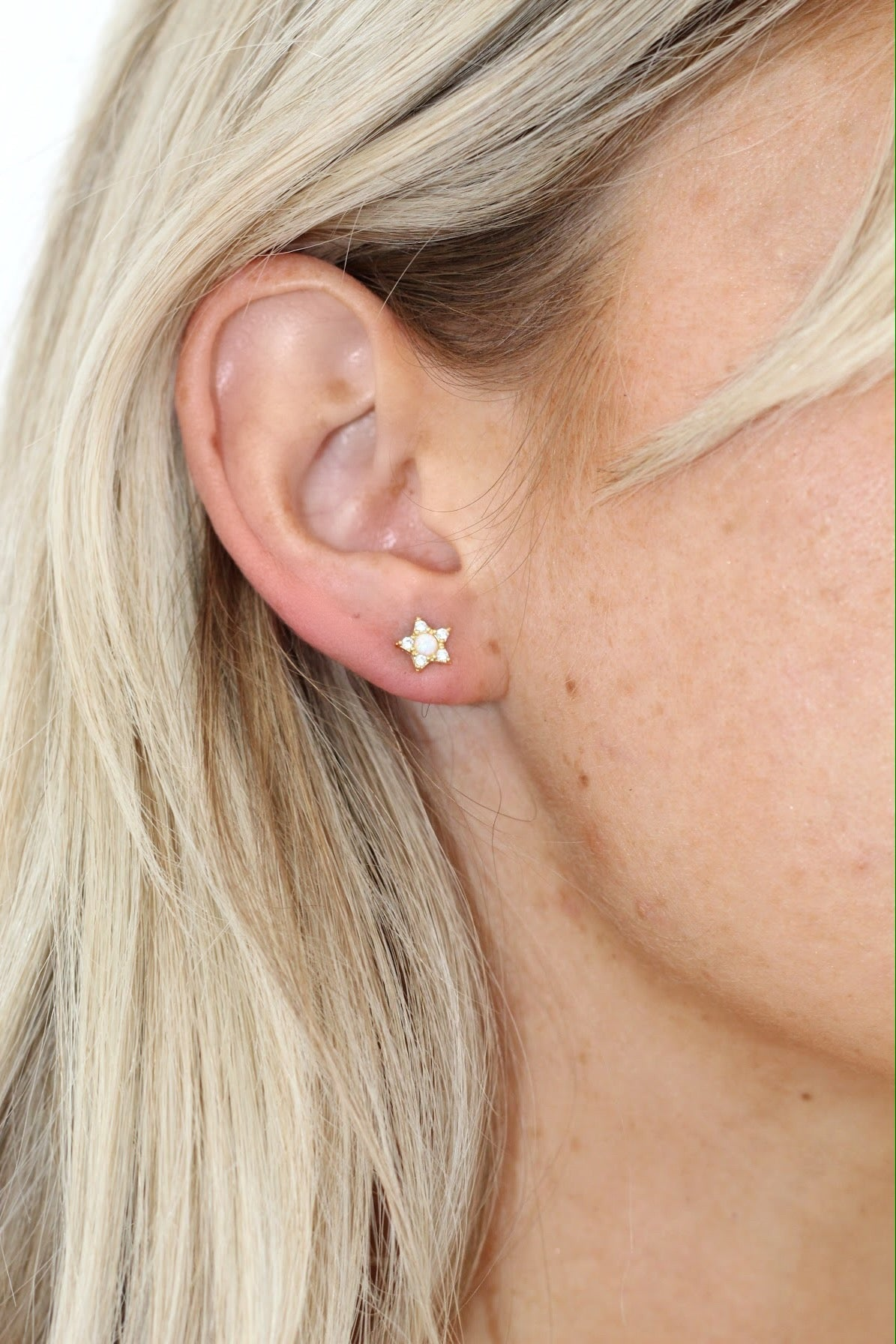 Seeing Stars Moonstone earring