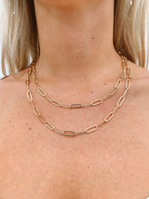 Ethereal chain necklace