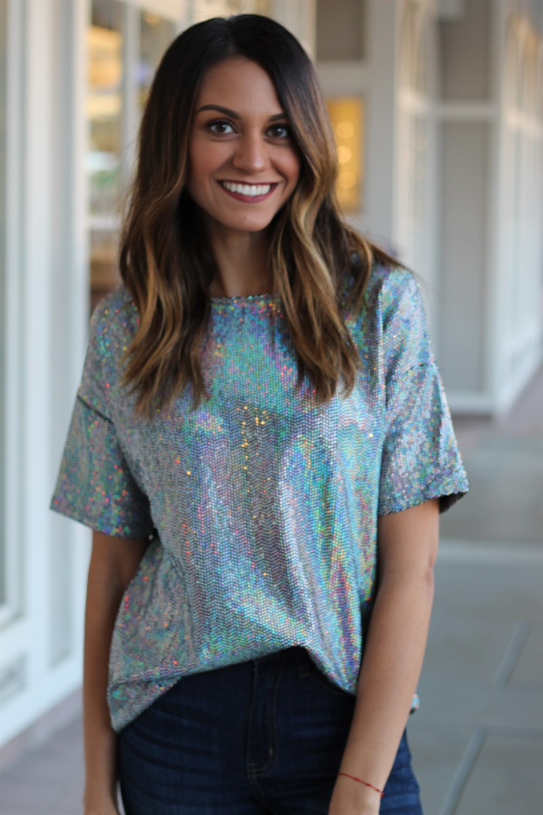 Sequin Party Tee