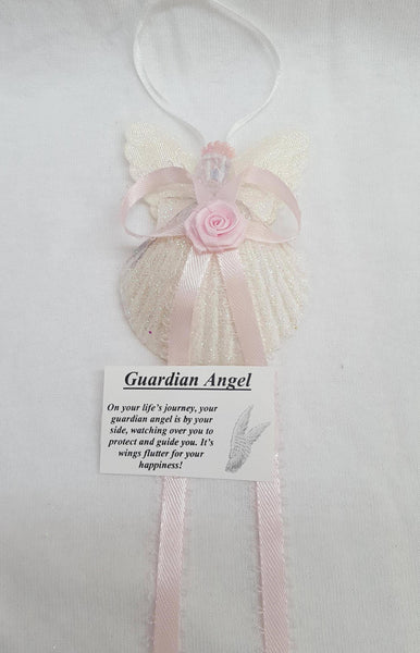 Small Shell Angel Ornament Gifts - Shell Port