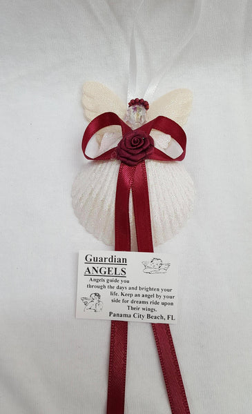 Small Shell Angel Ornament