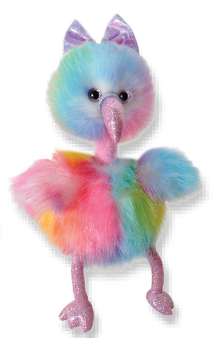 The Petting Zoo - Tutti Frutti Flamingo - Debbie's Hallmark