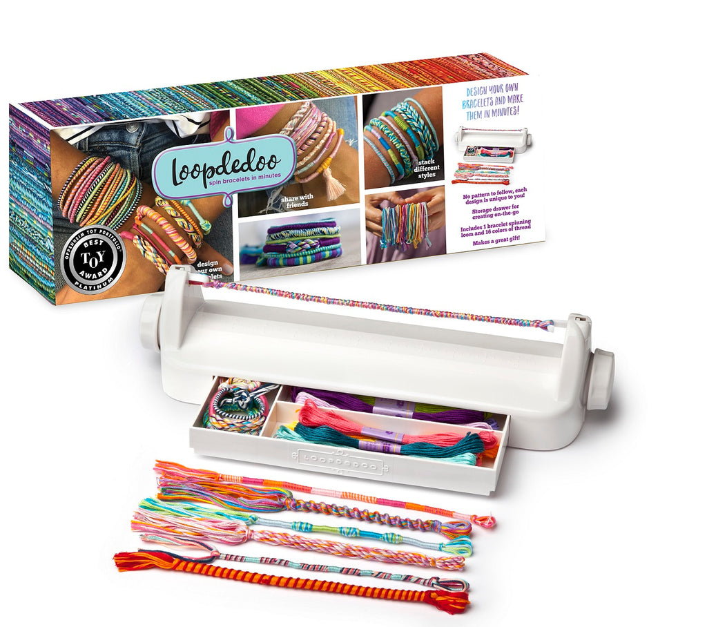 Loopdedoo-Friendship Bracelet Maker-Debbie's Hallmark