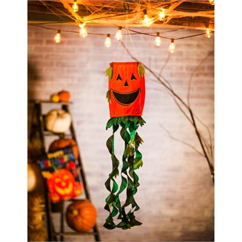 Evergreen - Jack-O-Lantern 3D Windsock