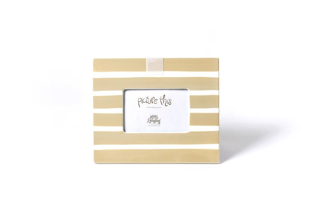 Happy Everything - Neutral Stripe Mini Frame