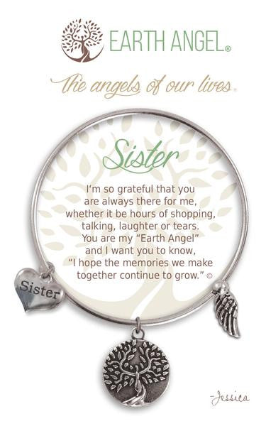 Earth Angel Bracelet - Sister