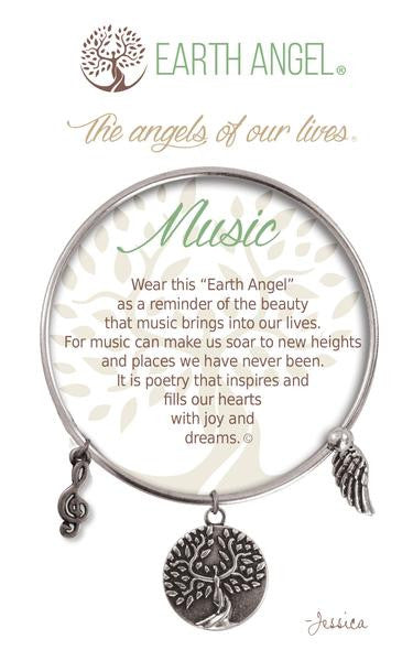 Earth Angel Bracelet - Music