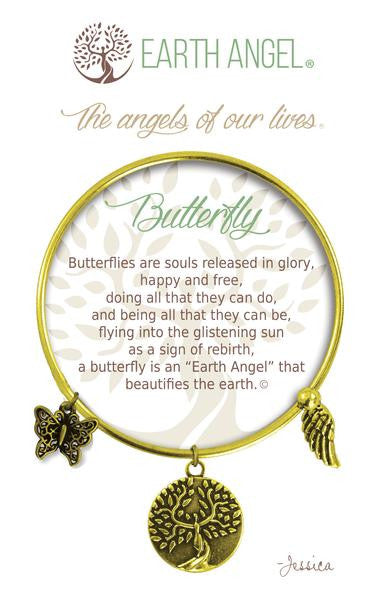 Earth Angel Bracelet - Butterfly