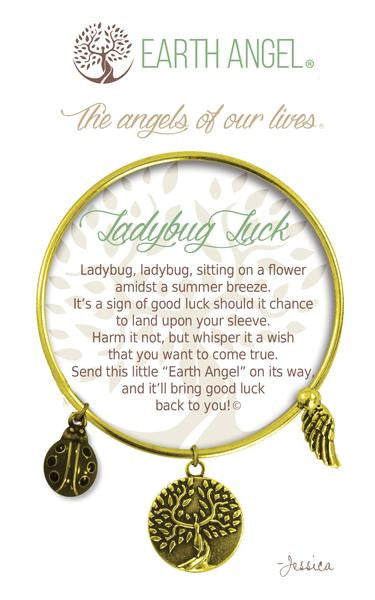 Earth Angel Bracelet - Ladybug Luck