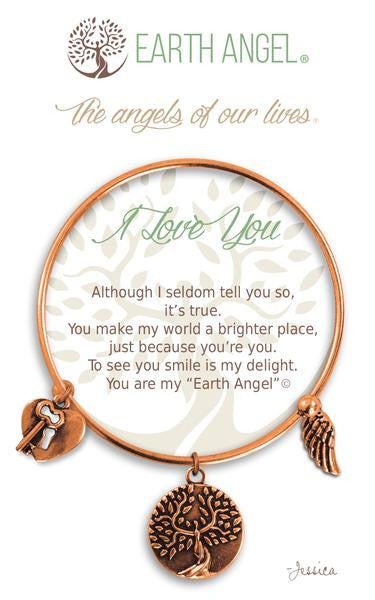 Earth Angel Bracelet - I Love You
