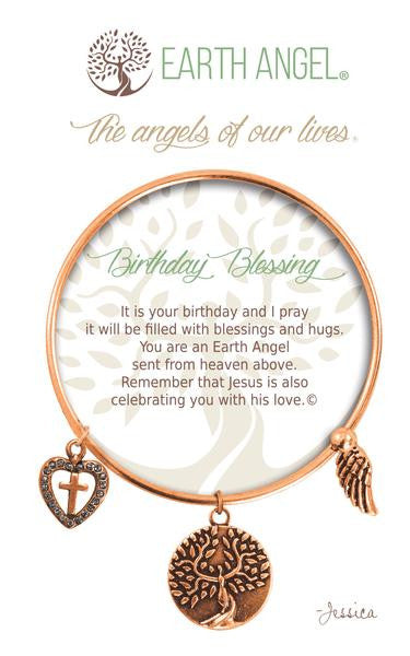 Earth Angel Bracelet - Birthday Blessing