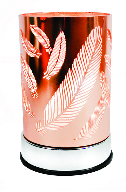 Scentchips - Copper Feather Lantern - Debbie's Hallmark