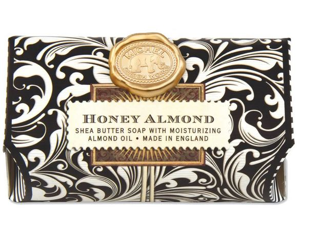 Michel Design Works - Honey Almond Large Bath Soap - Debbie's Hallmark
