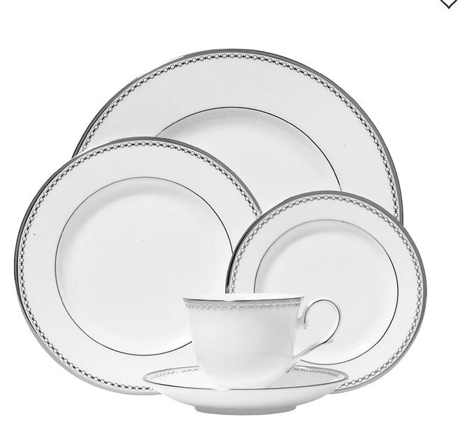 Lenox -  Pearl Platinum™ 5-piece Place Setting